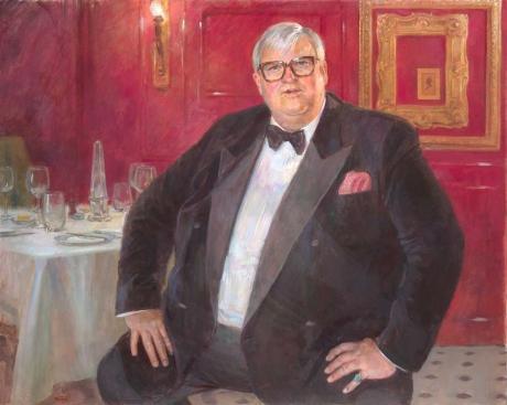 June Mendoza Artist Portrait of David Morgan-Hewitt