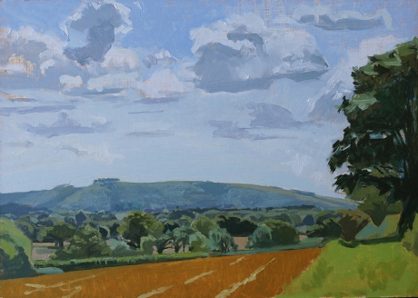 Aggs-Chris-Towards Chanctonbury After Harvest