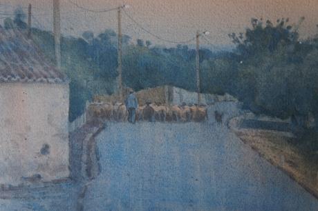 Allbrook-Colin-Portugal Dusk - Bringing Down the Sheep.jpg