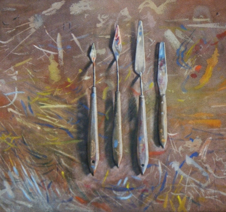 August-Lillias-Four Palette Knives.jpg