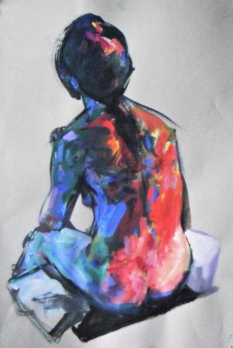 Ian Cook Figure Study 4