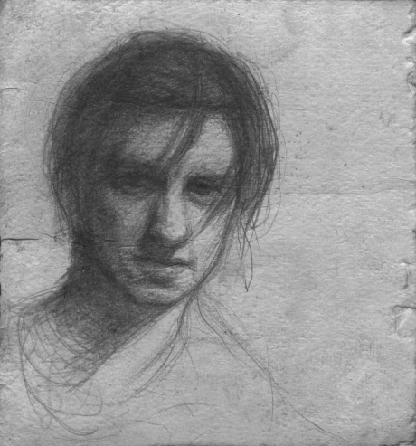 Williams-Scott-Self Portrait Sketch.