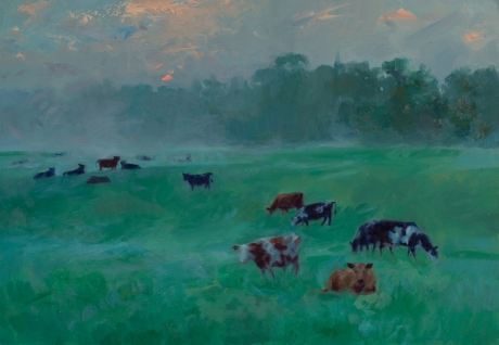 Cows After a Storm by Frances Bell Assoc RP Art Click and Buy Collection