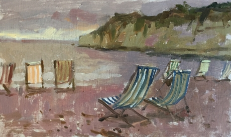 Haidee-Jo Summers Deckchairs at Beer