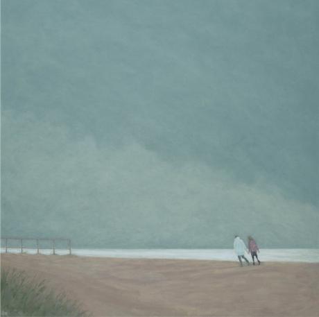 Silver Sea by Delia Tournay-Godfrey