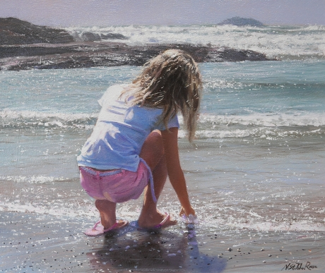 Nicholas St John Rosse, Touching water Mall Galleries Click & Buy