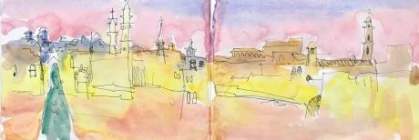 'Bethlehem Evening' by Lachlan Goudie ROI