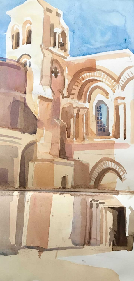 'Church of the Holy Sepulchre' by Lachlan Goudie ROI
