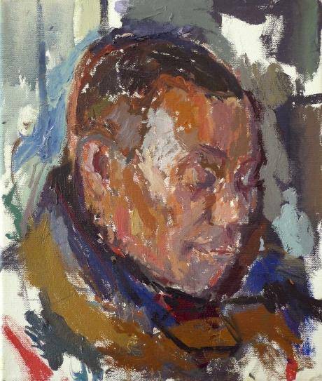 'Nicholas' oil painting by Daniel Shadbolt