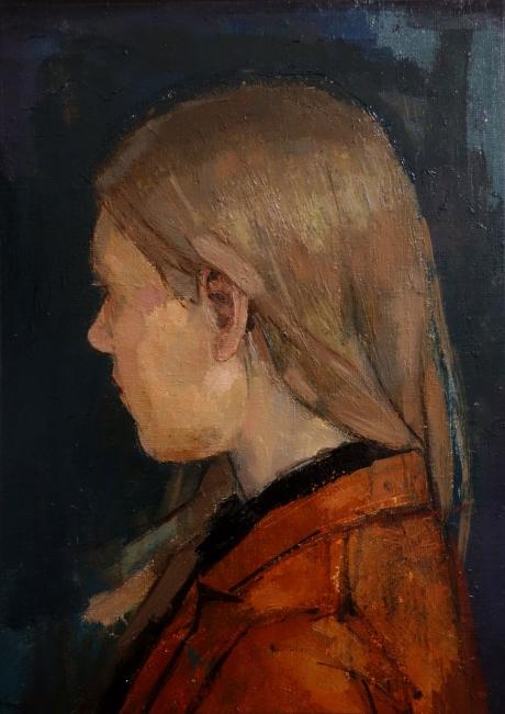 Orange and Blue by Bernadett Timko
