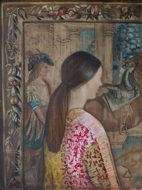 'The Tapestry' oil painting by Sophie Ploeg