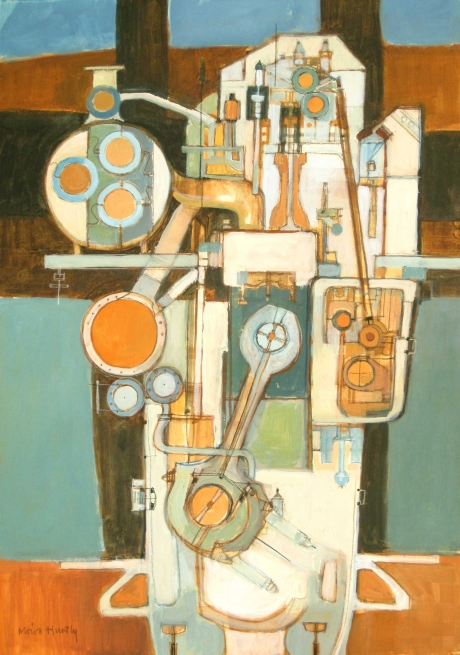 Homage to the TM620 Marine Diesal Engine by Moira Huntly