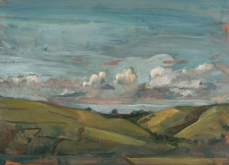 Towards Godlingston from Townsend, Isle of Purbeck by Toby Wiggins