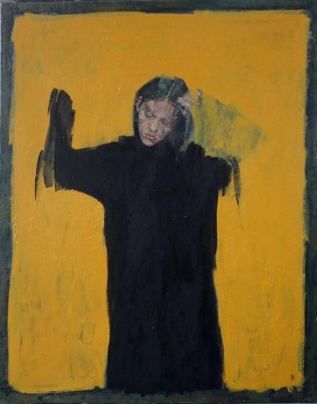 'Bee' oil painting by Bernadett Timko