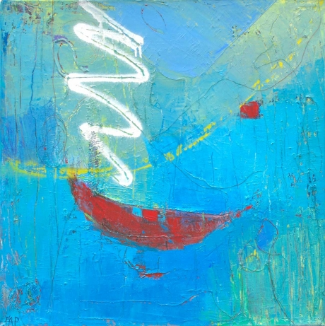'Dreamboat 1' oil painting by Michele Jaffe-Pearce
