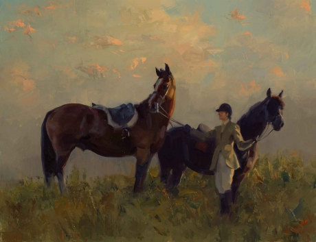 Pause at Sunrise by Frances Bell