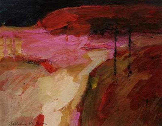 Salliann Putman NEAC Red Landscape